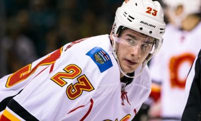 NHL: FEB 09 Flames at Sharks