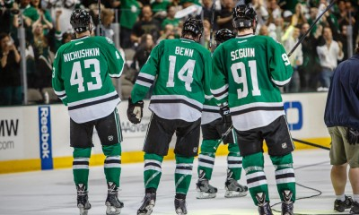 NHL: APR 23 Stanley Cup Playoffs - First Round - Ducks at Stars - Game 4