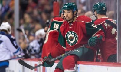 NHL: APR 06 Jets at Wild