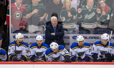 NHL: APR 26 Round 1 - Game 6 - Blues at Wild