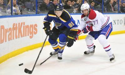 NHL: FEB 24 Canadiens at Blues