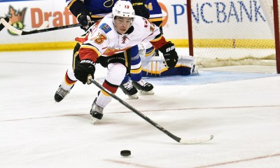 NHL: APR 02 Flames at Blues