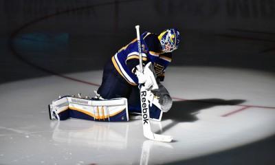 NHL: APR 02 Flames at Blues