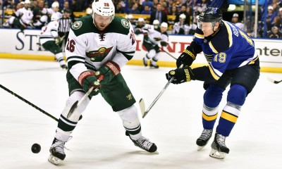 NHL: APR 11 Wild at Blues