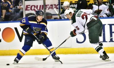 NHL: APR 11 Wild at Blues