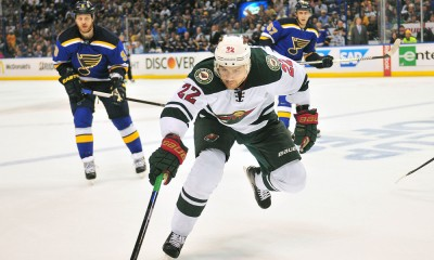 NHL: APR 18 Round 1 - Game 2 - Wild at Blues
