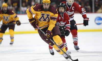 NCAA HOCKEY: MAR 30 Div I Championship - West Regional - St. Cloud v Minnesota