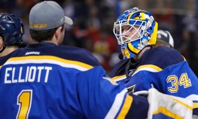 NHL: APR 09 Blackhawks at Blues
