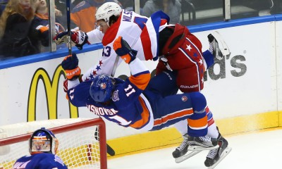 NHL: APR 21 Round 1 - Game 4 - Capitals at Islanders