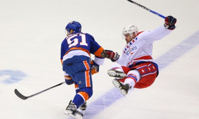 NHL: APR 25 Round 1 - Game 6 - Capitals at Islanders