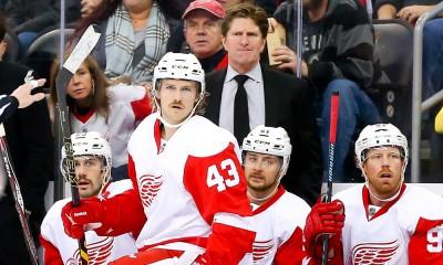 NHL: NOV 28 Red Wings at Devils