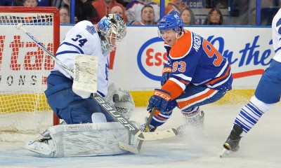 NHL: MAR 16 Maple Leafs at Oilers