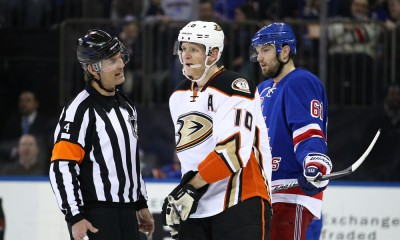 NHL: MAR 22 Ducks at Rangers