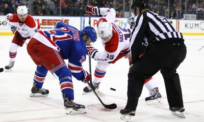 NHL: MAR 29 Capitals at Rangers