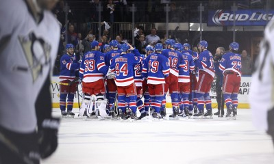 NHL: APR 24 Round 1 - Game 5 - Penguins at Rangers