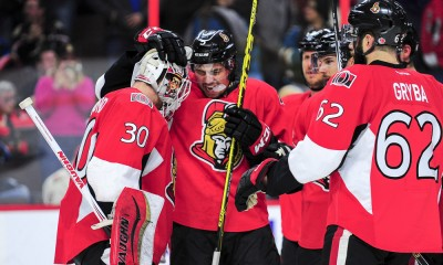 NHL: MAR 23 Sharks at Senators