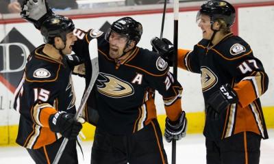 NHL: FEB 23 Red Wings at Ducks