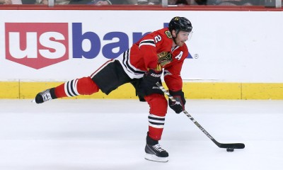 01 May 2015: Chicago Blackhawks Defenceman Duncan Keith (2) [2958] in action of game 1 of round 2 of the Stanley Cup Playoffs between the Minnesota Wild and the Chicago Blackhawks at the United Center, in Chicago, IL.