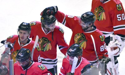 NHL: MAY 23 Western Conference Final - Game 4 - Ducks at Blackhawks