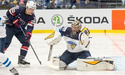 HOCKEY: MAY 01 IIHF Ice Hockey World Championships - USA v Finland