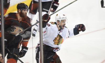 NHL: MAY 25 Western Conference Final - Game 5 - Blackhawks at Ducks
