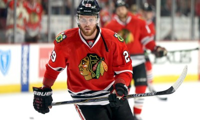 27  May 2015:  Chicago Blackhawks Left Wing Bryan Bickell (29) [4509] in action during Game 6 of the Western Conference Finals between the Chicago Blackhawks and the Anaheim Ducks at the United Center in Chicago, IL.