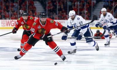 NHL: JUN 10 Stanley Cup Final - Game 4 - Lightning at Blackhawks