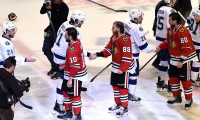NHL: JUN 15 Stanley Cup Final - Game 6 - Lightning at Blackhawks