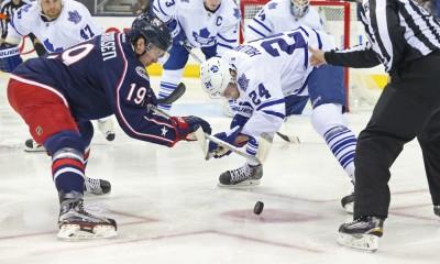 NHL: APR 08 Maple Leafs at Blue Jackets