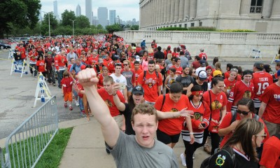 NHL: JUN 18 Chicago Blackhawks Stanley Cup Victory Parade