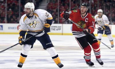 NHL: APR 25 Round 1 - Game 6 - Predators at Blackhawks