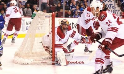 NHL: APR 09 Coyotes at Canucks