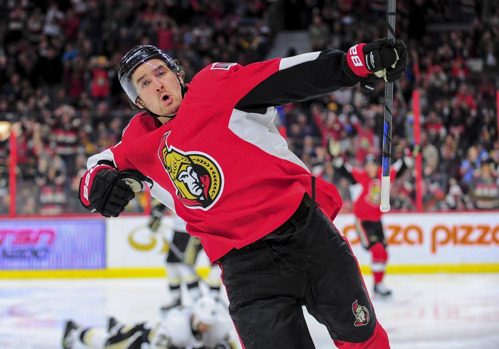 NHL: APR 07 Penguins at Senators