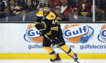March 12, 2015: Boston Bruins Defenceman Dennis Seidenberg (44) [2423]. The Boston Bruins defeated the Tampa Bay Lightning 3-2 (SO) in a regular season NHL game at TD Garden in Boston, Massachusetts.