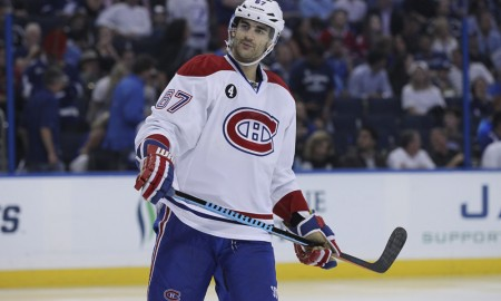 06 May 2015: Montreal Canadiens left wing Max Pacioretty (67) during Game 3 of the 2nd Round of the Stanley Cup Playoffs between the Montreal Canadiens and Tampa Bay Lightning at Amalie Arena in Tampa, FL