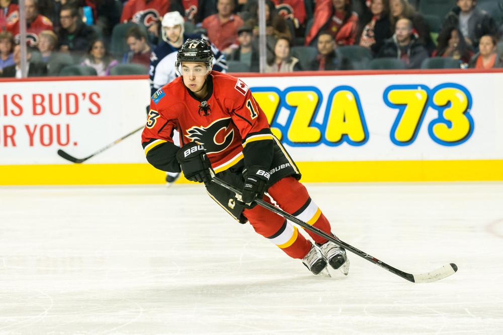 NHL: OCT 03 Preseason - Jets at Flames