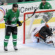 13 OCT 2016: Dallas Stars Defenceman Stephen Johns (28) scores a goal during the NHL game between the Anaheim Ducks and Dallas Stars at American Airlines Center in Dallas, TX. (Photo by Andrew Dieb/Icon Sportswire)
